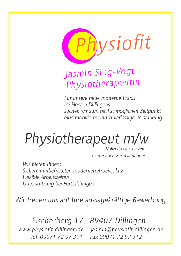physiotherapeut 2018 02